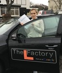 I chose The L Factory because I wanted a female Driving Instructor