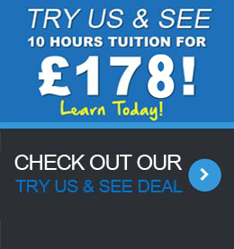 Driving Lessons Blackpool | Try Us ans See!