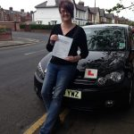 Katie-Fairclough-proudly-showing-her-test-certificate