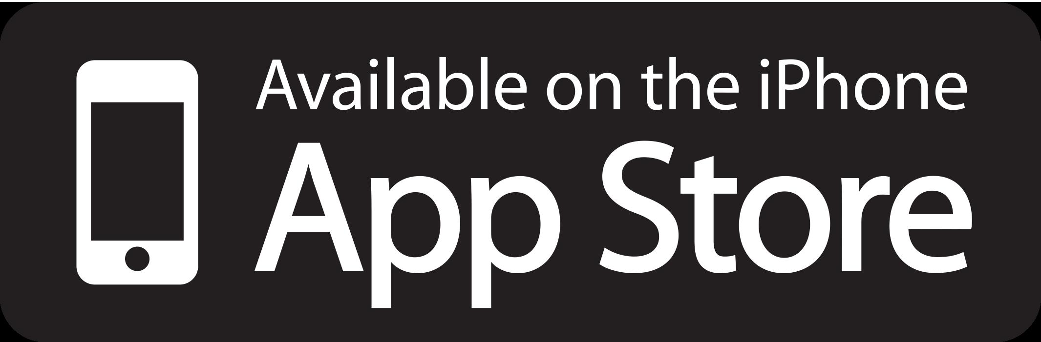 Apple iPhone App Store button
